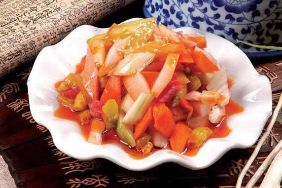 泡菜的腌制方法和配料
