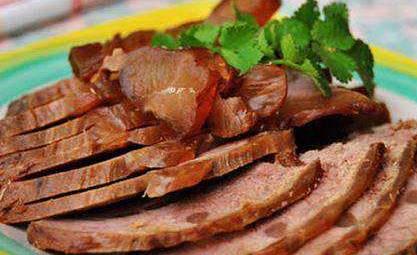 卤牛肉的做法 最正宗的做法