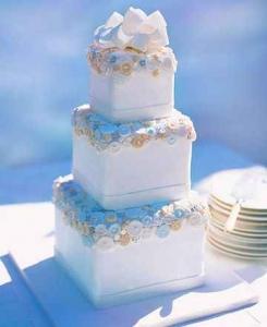 婚礼蛋糕的做法