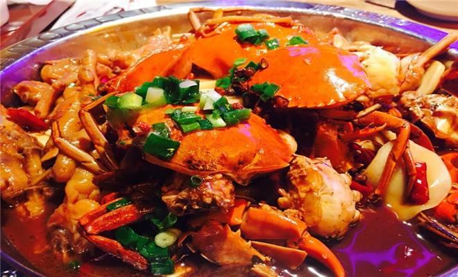 爆香肉蟹煲的正宗做法