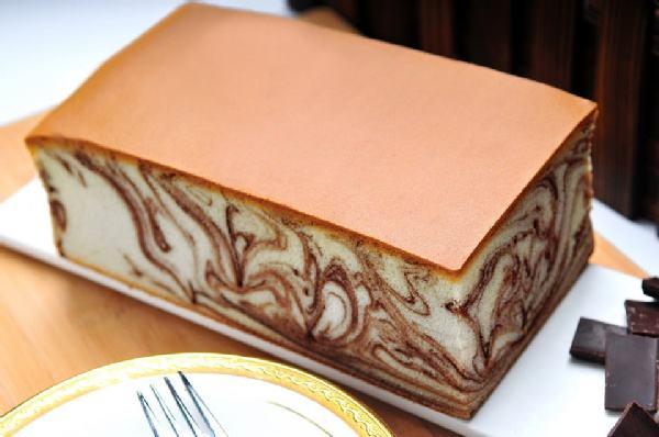 大理石蛋糕配方和花纹做法